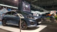 Sverigepremiär för Fords laddhybrider på eCar Expo