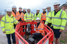 Stephen Crabb MP connects with ultrafast broadband