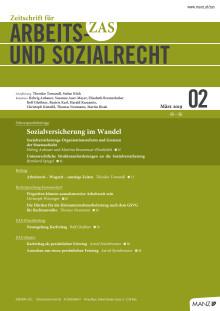 ZAS 2/2019 und 2a/2019 Inhaltsverzeichnisse