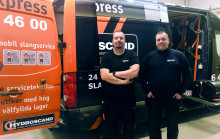 Hydroscand lanserar SlangExpress i Eskilstuna