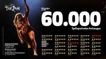Fredericia Teaters produktion af Disneys Musical TARZAN er årets bedst anmeldte forestilling og forlænger spilleperioden frem til jul efter 60.000 solgte billetter