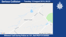 Appeal for witnesses following serious collision in Normandy