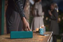 Musik immer dabei: die neuen kabellosen Lautsprecher von Sony
