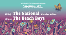 THE BEACH BOYS OCH THE NATIONAL TILL STOCKHOLMS NYA SOMMARSCEN