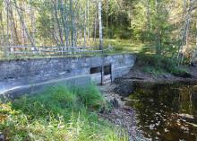 Gretjärnsdammen i Naturreservatet Öjenäsbäcken ska rivas