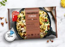 Italiensk middag på bara 10 minuter - Findus lanserar vegetarisk Tagliatelle Funghi