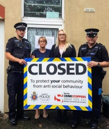 Three month Closure Order secured to prevent anti-social behaviour at a flat in Haslemere.