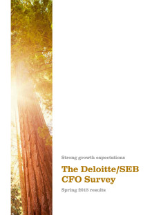 The Deloitte/ SEB CFO Survey - spring 2015