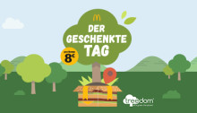 Für den Klimaschutz - McDonald's Deutschland verschenkt Werbezeit