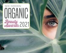 För tredje året i rad är tidningen Hälsa med som mediepartner och sponsor i Organic Beauty Awards!