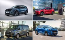 Ford skal selge flere elektrifiserte biler enn diesel og bensin i 2022