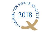 Utmärkelsen Svensk Kvalitet 2018 tilldelas Internetstiftelsen och MTR Tunnelbanan