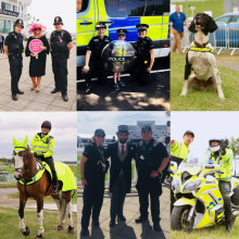 Policing at its proudest for the Investec Derby Festival
