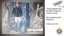 Can you help us identify these men as police investigate attempted robbery in Egham