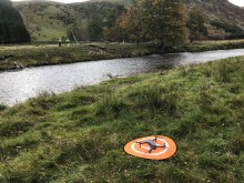 Drone helps broadband speeds to soar in Highland glen