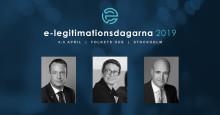 Ygeman och Reinfeldt klara för årets konferens e-legitimationsdagarna 4-5 april