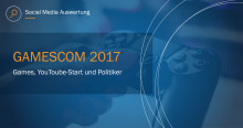 Games, YouTube-Stars und Politiker – Unsere Social Media Analyse zur Gamescom 2017