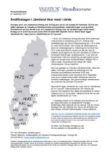 Värdebarometern 2017 Sverige