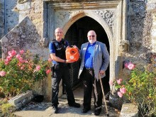 Life-saving boost for St Oswald's Church, Hooe