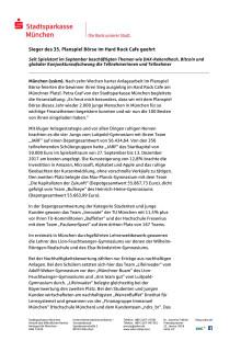 Pressemeldung Planspiel Börse 22. Januar 2018
