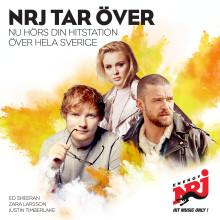 NRJ tar över - hörs snart över hela Sverige