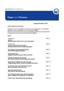 Tipps und Themen 12-2019