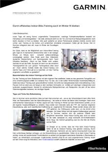 Tipps und Tricks für das Indoor-Bike-Training