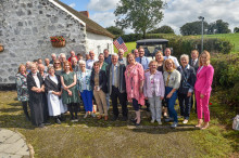 Community spirit shines in Cullybackey for Britain in Bloom judges