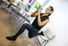 5 erősítő gyakorlat, amit akár a munkahelyeden is végezhetsz