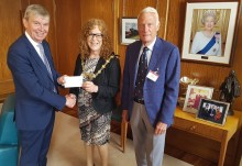 Mayor's charities off to a flying start