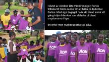 Vänföreningen Portee på återbesök i Sierra Leone