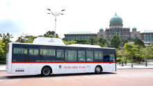 Next Stop is the Green City of the Future, EV Bus Demonstration Project in Malaysia