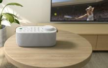 Overal in huis optimaal genieten van tv-audio: de nieuwe praktische draadloze tv-luidspreker van Sony