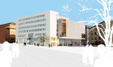 Nya skisser för Borås kongresshus