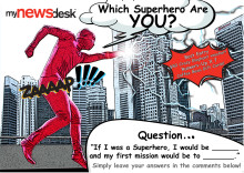 Which Superhero are YOU? Tell us and win a Christmas gift from us!