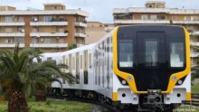 The First Driverless Train of New Lima Metro, manufactured by Hitachi Rail Italy, arrives in Lima