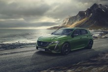 Nya Peugeot 308 – ny design, ny logotyp och som plug-in hybrid