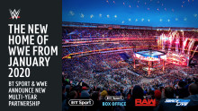 WWE® and BT Sport Announce New Partnership
