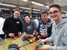 Jugendliche aus Salzhemmendorf beim Energy Camp von Westfalen Weser Energie