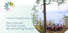 Mindshift: Prova på skogsfloating med holländska Mirjam Willaert och Torbjörn Wrange. Vackra Bommersvik bjuder in till coronasäkrad naturupplevelse med fantastisk lunch. Söndag 14 juni och tisdag 16 juni.