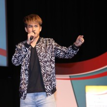 Arthur Choo sharing BEAT'ABOX Story at ITE Central