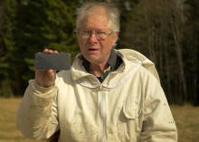 Biodlare i Lindesberg utvecklar mobilapp för att rädda bin