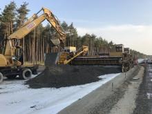 Startschuss für den Betondeckenbau auf der BAB 14 Groß Warnow–Grabow