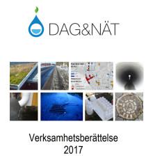 C-SVU-rapport med Dag&Näts Verksamhetsberättelse 2017 (rörnät, klimat, avlopp och miljö)