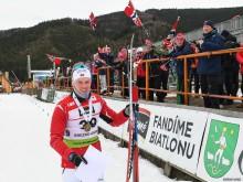 Bronse til Sivert Bakken i junior-VM