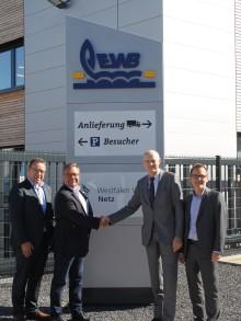 EWB und WWN unterschreiben Kooperationsvertrag - EWB-Kundencenter wird zur gemeinsamen Anlaufstelle