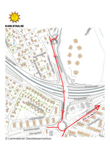 Trafikomledning_Rudsmotet_mot Stockholm