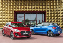 Danmarkspremiere på ny Suzuki Swift