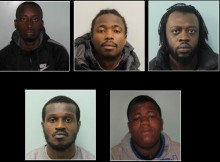 Appeal to locate five men wanted for murder of Ricardo Fuller in Ilford