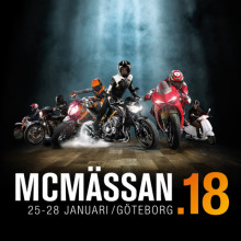 Dags för årets höjdpunkt! Vi ses på Sveriges största MC-mässa!